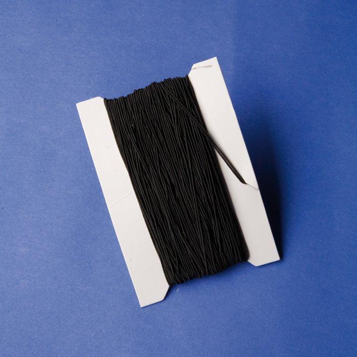 Gumička černá 50m, průměr 1mm