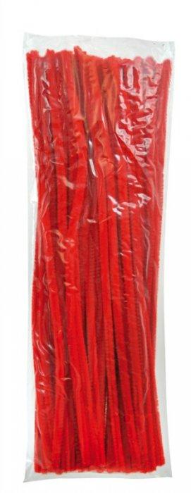 Modelovací dráty 30cm, 100ks - červené