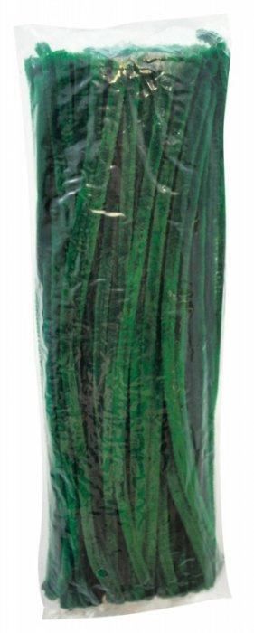 Chlupaté modelovací dráty 30cm, 100ks - zelené