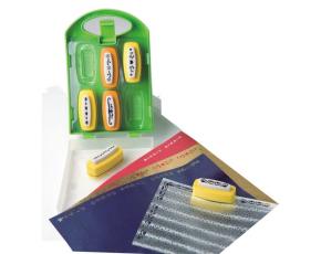 Děrovačky bordury 6ks v praktickém plastovém kufříku