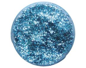 Třpytivý gel 12 ml- modrý světlý