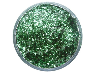 Třpytivý gel 12 ml- zelený