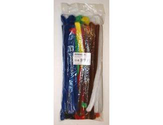 Modelovací dráty 50 ks mix barev silnější 16 x 28cm