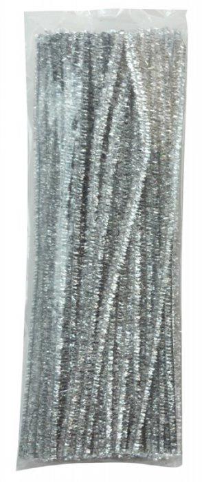 Modelovací dráty 30cm, 100ks- stříbrné