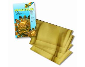 Hliníková fólie zlatá 3 ks, 18,5x29 cm, 70 u