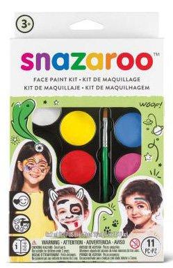 Velká sada obličejových barev - zelená