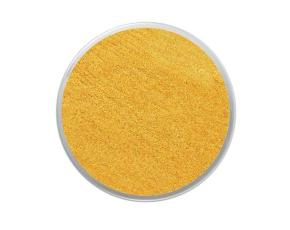 Barva na obličej třpytivá18ml- žlutá
