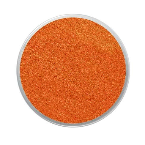 Barva na obličej třpytivá18ml- oranžová