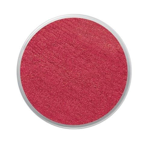 Barva na obličej třpytivá18ml- červená