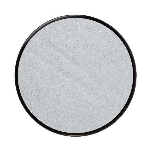 Barva na obličej metalická18ml- stříbrná