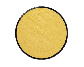 Barva na obličej metalická18ml- zlatá