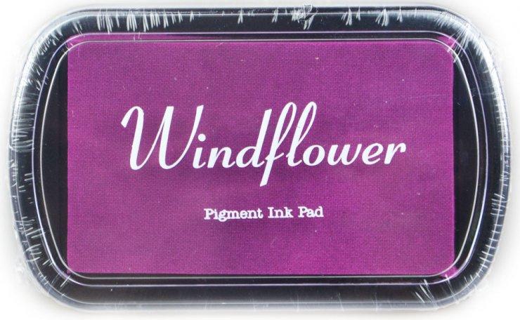 Polštářek pro razítkování na papír - Fialová