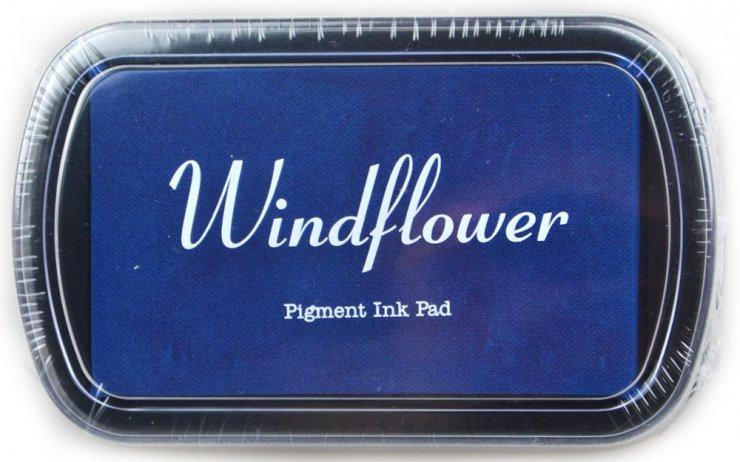 Polštářek pro razítkování na papír - Modrá