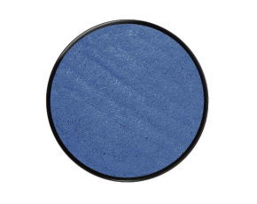 Barva na obličej metalická18ml- modrá