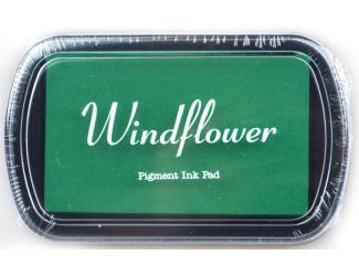 Polštářek pro razítkování na papír - Zelená