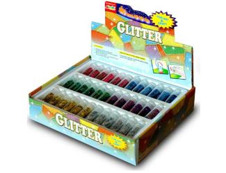 Doplňky mix barev 72 kusů v boxu - jehličky