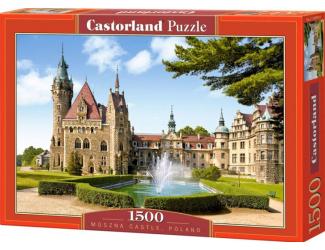 Puzzle 1500 dílků- Moszna Castle, Polsko