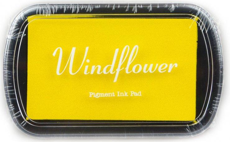 Polštářek pro razítkování na papír - Žlutá
