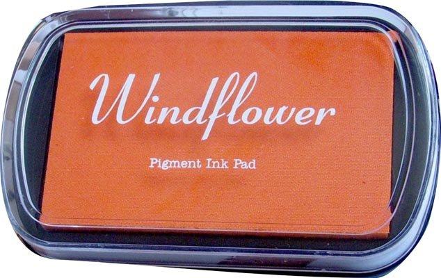 Polštářek pro razítkování na papír - Oranžová