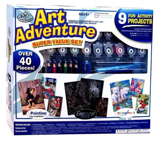 Art Adventure- velká sada tvoření - bílá