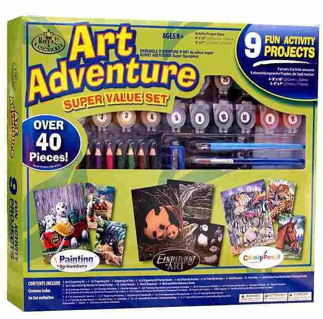 Art Adventure- velká sada tvoření - zelená