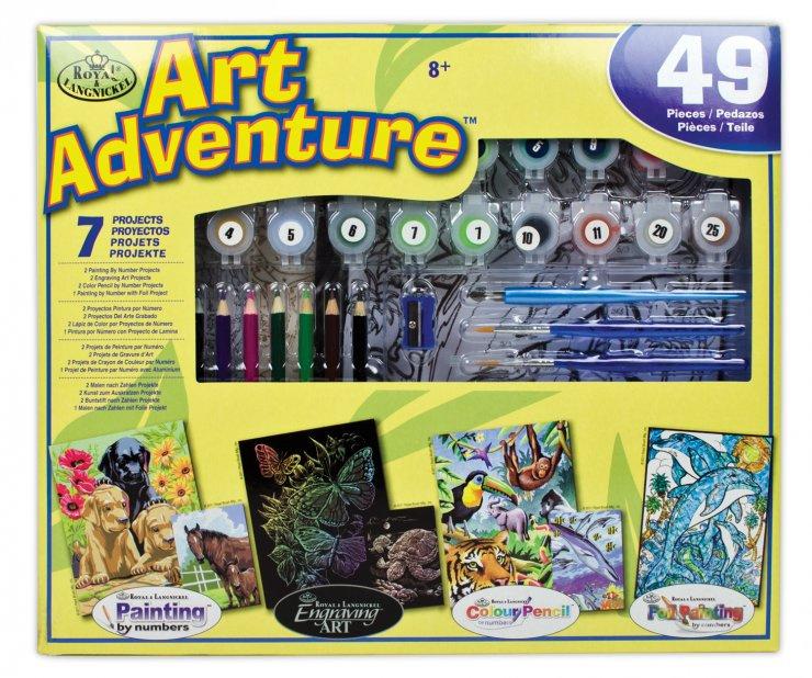 Art Adventure- velká sada tvoření - žlutá