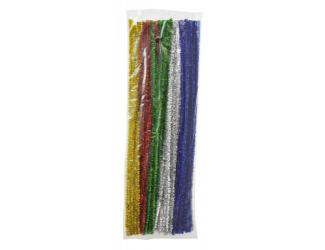 Modelovací dráty 90ks- třpytivé, 30cm, mix barev