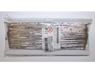 Gumička - stříbrná 50m, průměr 1mm