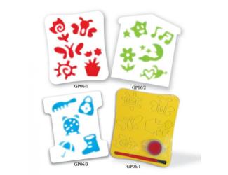Dětská pěnová razítka- 3 motivy