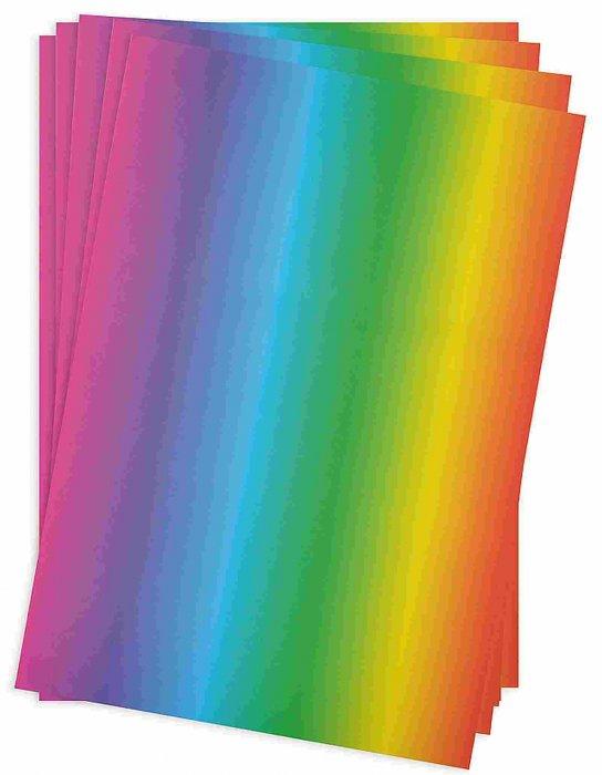 Duhový papír 34x24,5cm 20ks, 130g