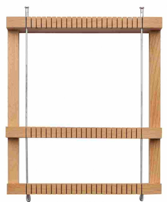 Tkalcovský stav- dřevěný