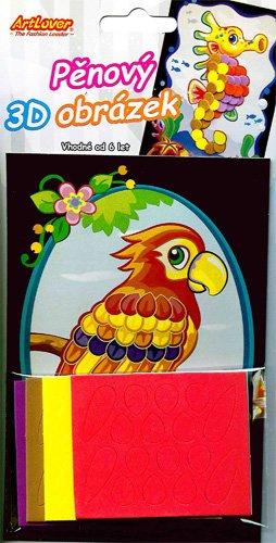 Pěnový 3D obrázek- V balení 12 ks, zadejte počet kusů, cena je za 1ks