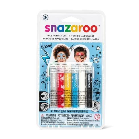 Tužky na obličej - 6 barev , Chlapci
