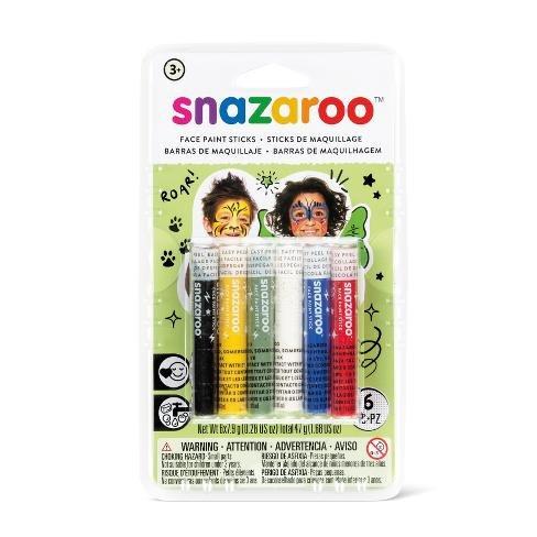 Tužky na obličej - 6 barev uni