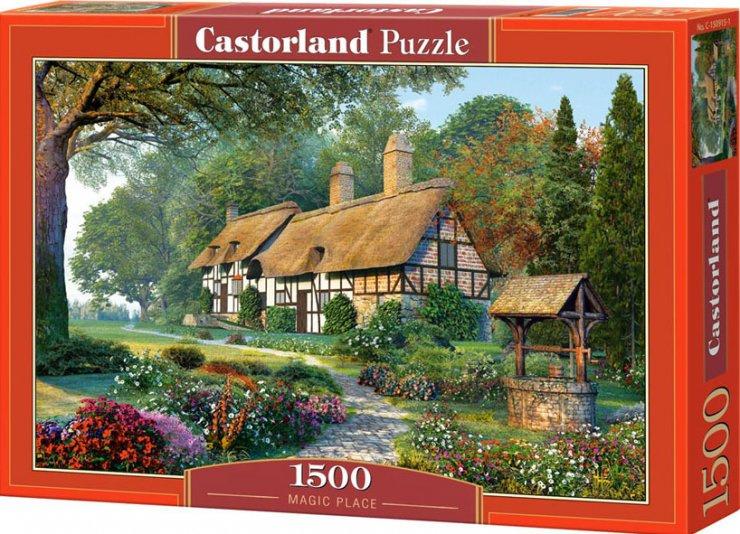 Puzzle Castorland 1500 dílků - Kouzelné místo
