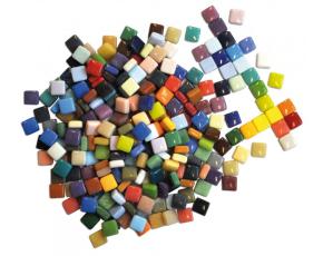 Mozaika 12x12 mm, 300 ks, mix barev