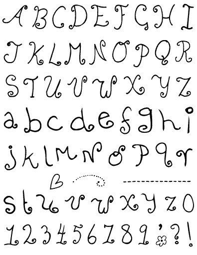 Razítka - písmenka a čísla školáka