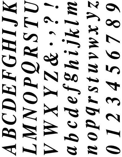 Razítka - písmenka a čísla tiskací