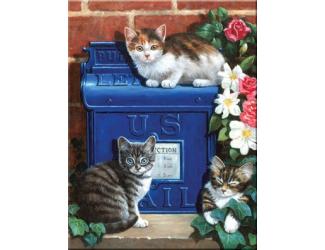Malování podle čísel- Poštovní schránka