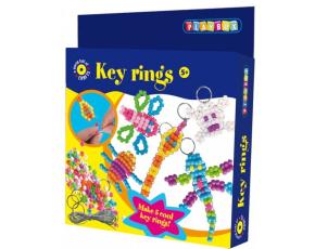 Přívěšky na klíče - korálky