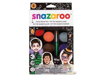 Velká sada obličejových barev  Halloween