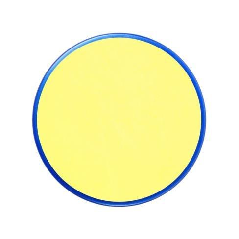"""Barva na obličej 18ml - žlutá světlá - """"Pale Yellow"""""""