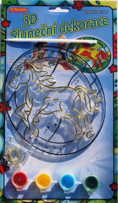3D Sluneční dekorace - Kůň