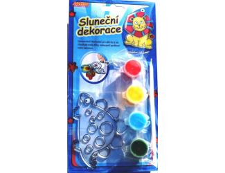 Sluneční dekorace - Dinosaurus