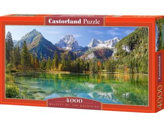 Puzzle Castorland 4000 dílků -  Majestát hor