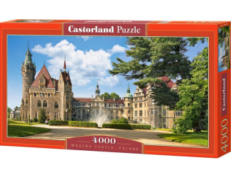 Puzzle 4000 dílků - Zámek Moszna, Polsko