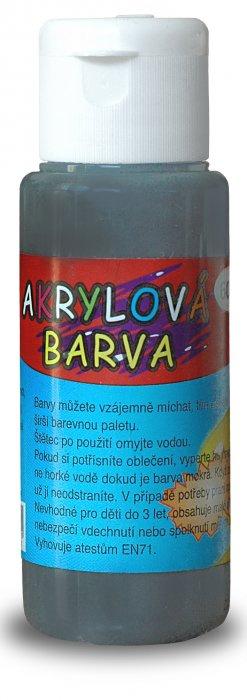 Akrylová barva 60ml - černá (iron black)