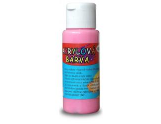 Akrylová barva 60ml - růžová (brilliant pink)
