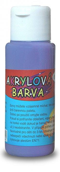 Akrylová barva 60ml - fialová (red purple)