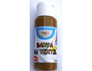 Barva na textil 60ml - okrová (ocher)